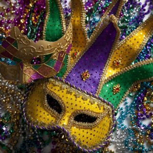 Mardi Gras Theme Dance