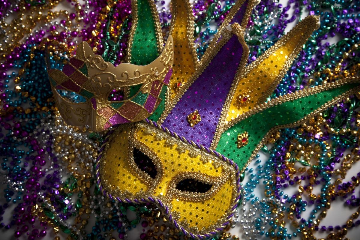 Mardi Gras Theme Dance